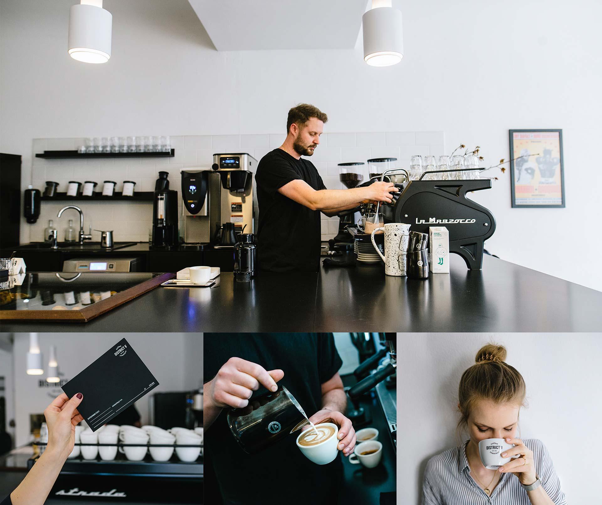 tide stories design agentur ingolstadt district five coffee roaster kaffee und corporate design